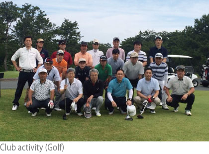Club activity (Golf)