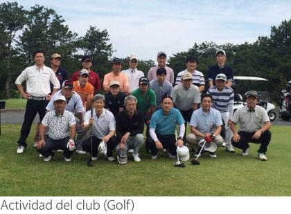 Actividad del club (Golf)
