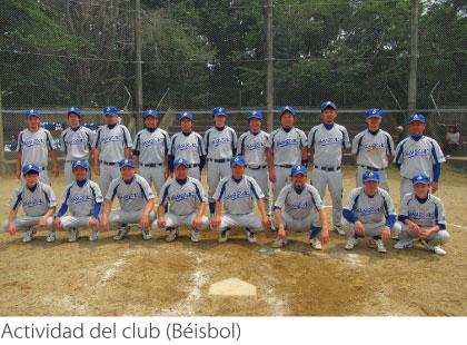 Actividad del club (Béisbol)